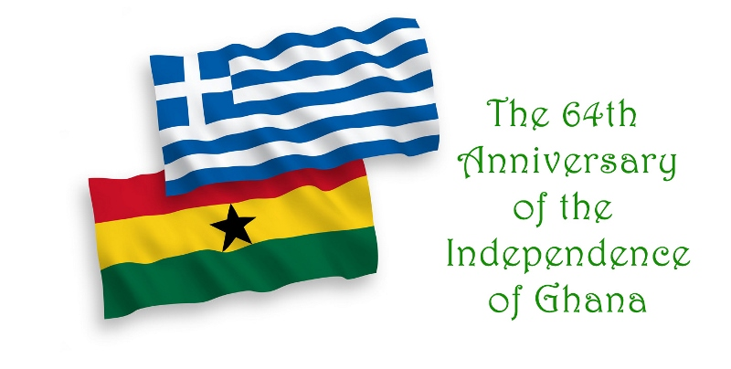 Ghana joins Greece in celebrating Greek Independence Day