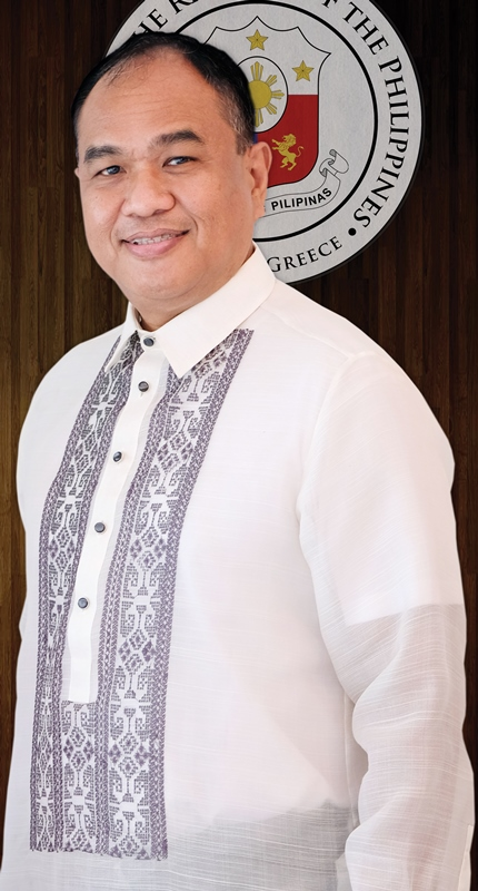 Ambassador of the Republic of the Philippines, Giovanni Endencia Palec