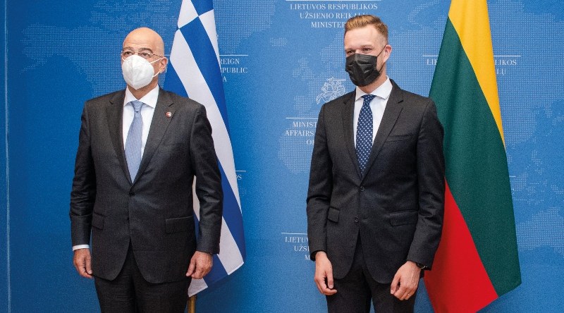 Foreign Minister meets with his counterpart in Vilnius