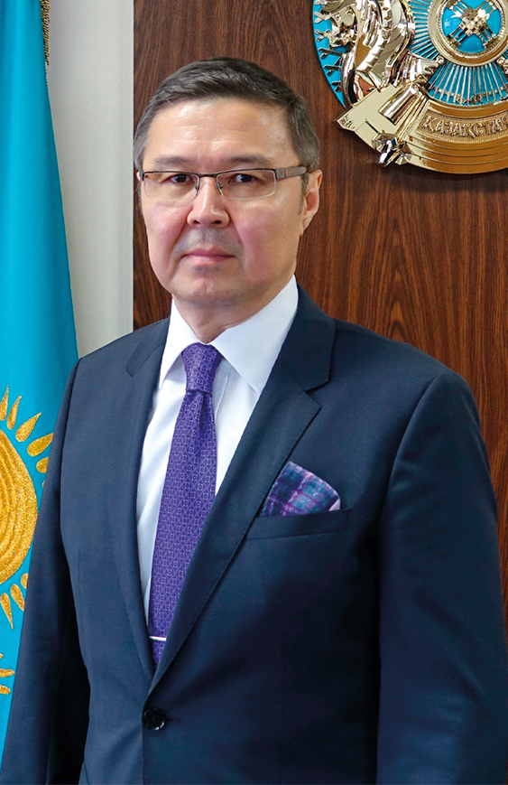Ambassador of the Republic of Kazakhstan, Yerlan Baudarbek-Kozhatayev